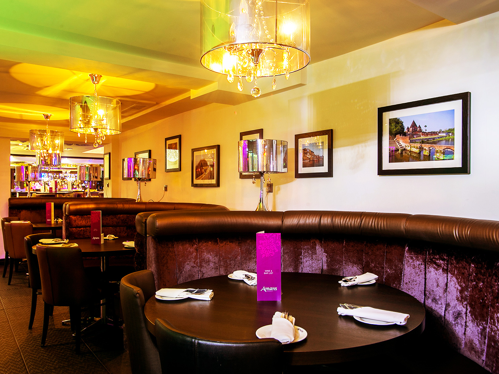 Amans worsley for Amans indian cuisine
